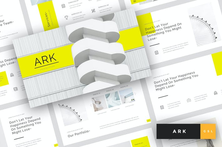Ark - Architecture Google Slides Template