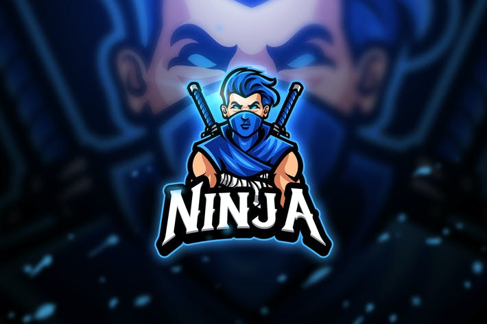 Thumbnail for Ninja - Mascot & Esport Logo