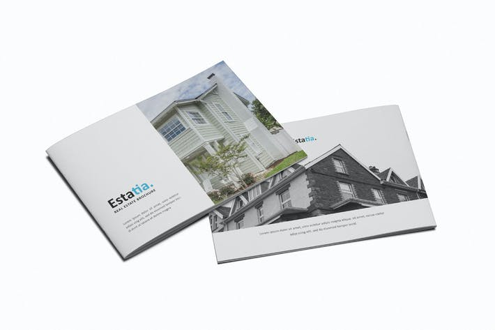 Thumbnail for Estatia Real Estate A5 Brochure