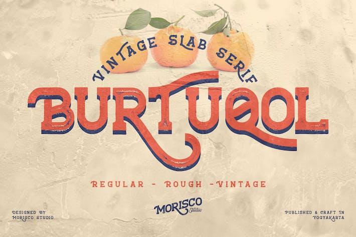 Thumbnail for Burtuqol - Losa vintage Con serifa