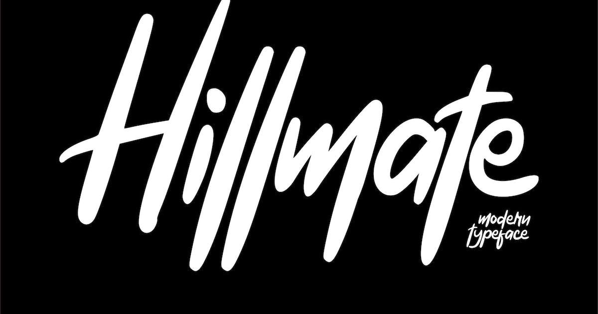 Download Hillmate   Modern Typeface Script by Vunira