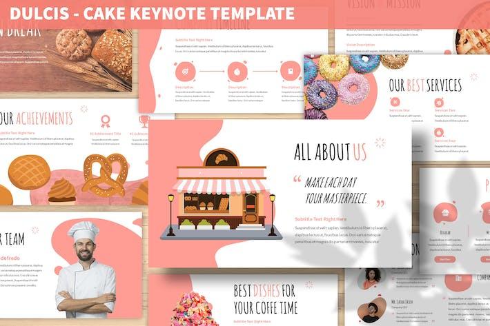 Thumbnail for Dulcis - Шаблон ключевых пометок торта
