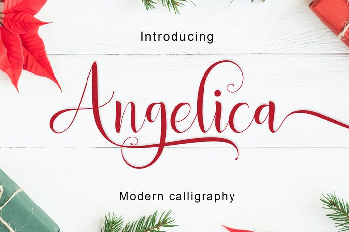 Thumbnail for Angelica Script