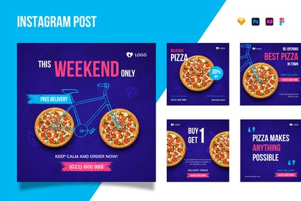 Instagram-Pizza
