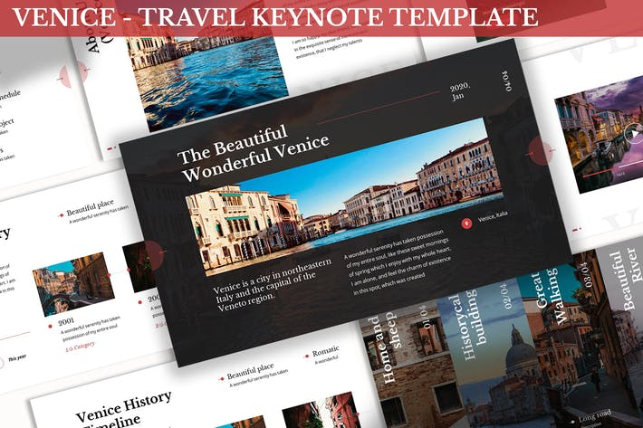 Thumbnail for Venice - Travel Keynote Template