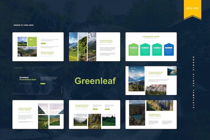 Greenleaf | Шаблон слайдов Google