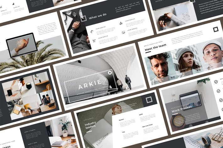 Thumbnail for Arkie PowerPoint Template