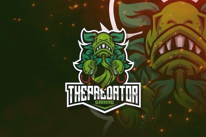 Thumbnail for The Predator Esport Logo Template