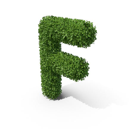 Letra en forma de seto f