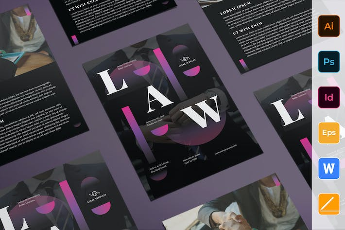 Thumbnail for Law Company Flyer