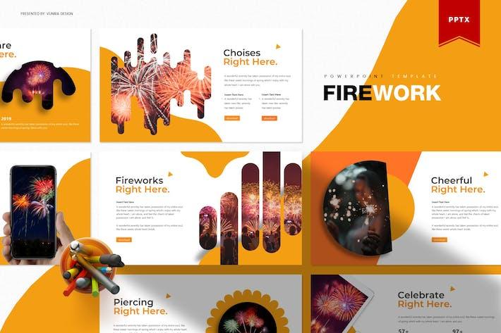 Thumbnail for Fireworks | Шаблон Powerpoint