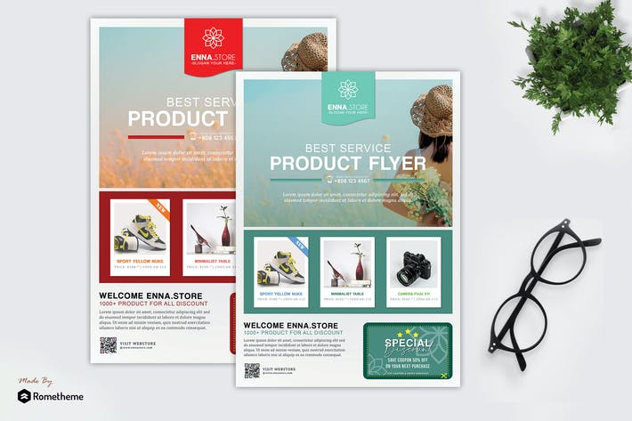 Cover Image For Enna - Product Promotion Sale Flyer HR