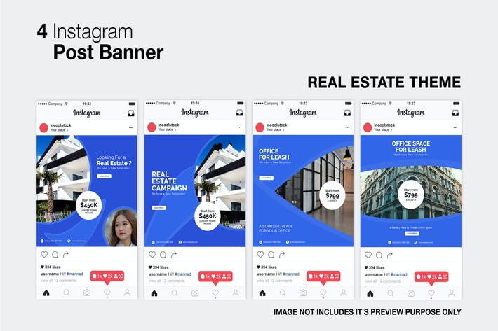 Cover Image For Real Estate Instagram Post