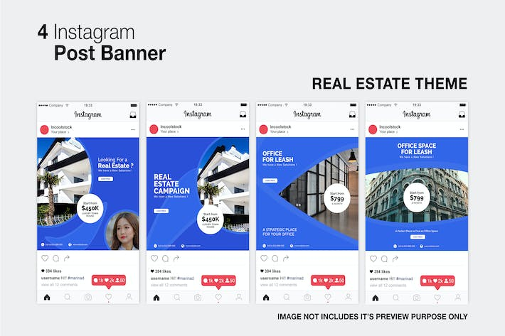 Thumbnail for Real Estate Instagram Post