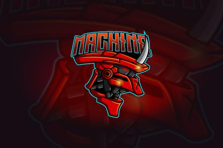 Thumbnail for Machine - Mascotte & Logo Esport