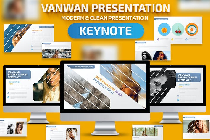 Thumbnail for Vanwan Keynote Presentation Template