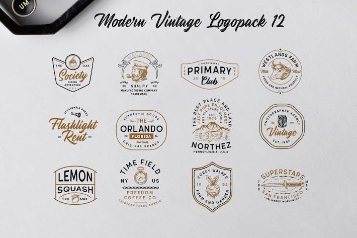 Thumbnail for Modern Vintage Logopack 12