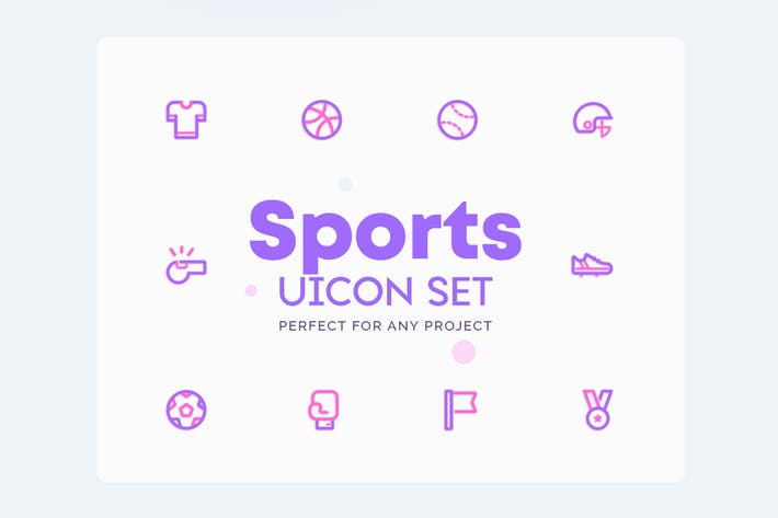 Thumbnail for UICON Sports Icons