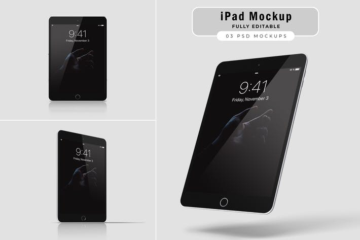 Thumbnail for iPad Air Mockups V.1