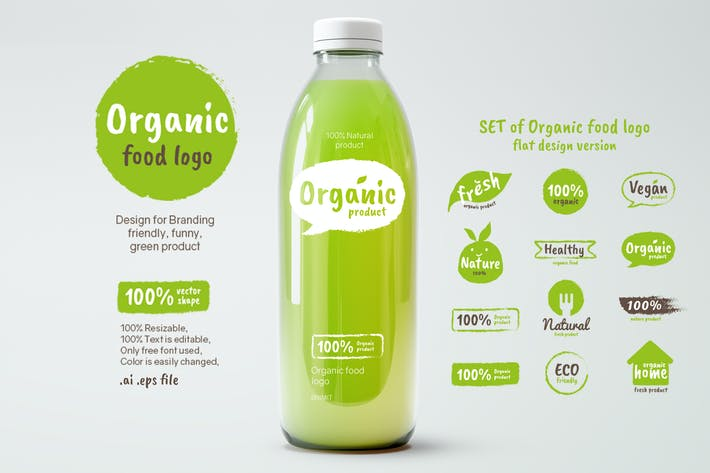 Thumbnail for Organic Food logo