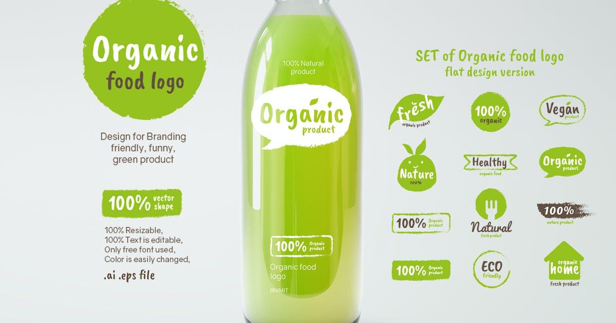 Download Organic Food logo by BNIMIT