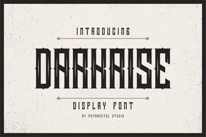 Thumbnail for Darkrise - Classic Font