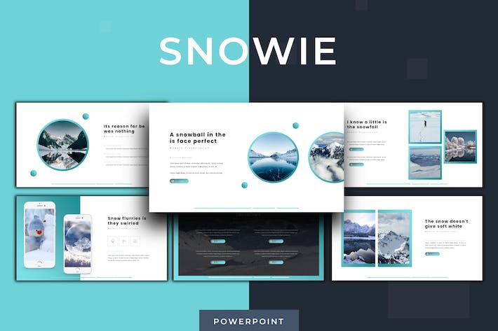 Thumbnail for Snowie - Powerpoint Template