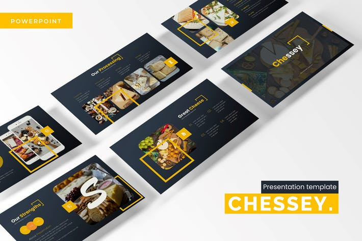 Thumbnail for Chessey - Powerpoint Template