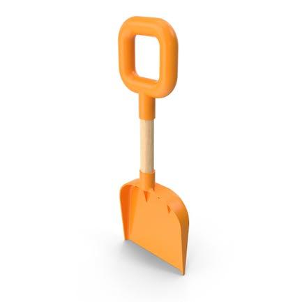 Пляжная лопата оранжевый