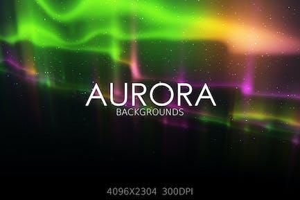 Aurora Lights Backgrounds