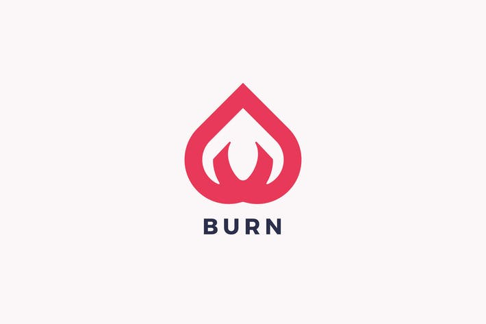 Thumbnail for Burn Logo Template