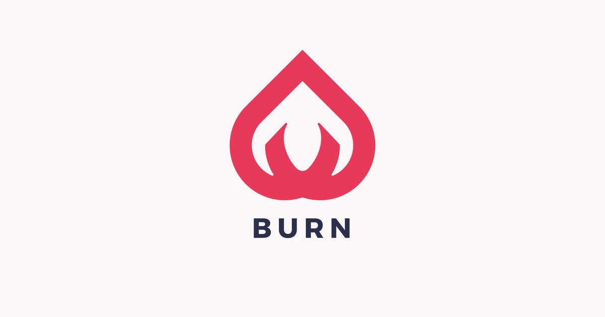 Download Burn Logo Template by Pixasquare