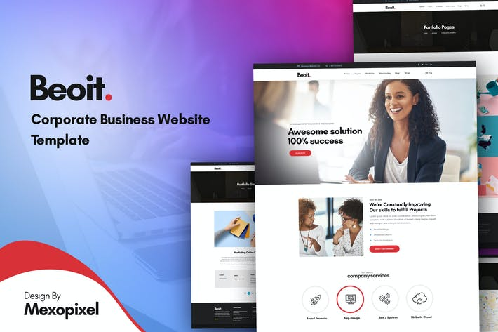 Thumbnail for Beoit - Consulting & Corporate Business Template