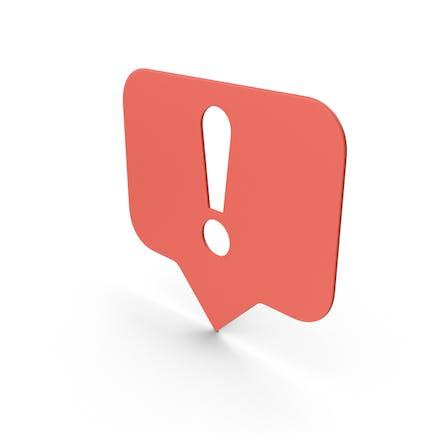 Symbol für Fehlermeldungen