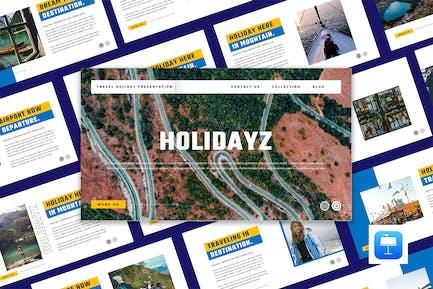 HOLIDAYZ - Travel Holiday Keynote Template