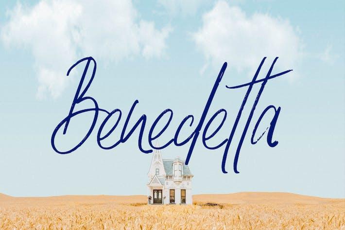 Thumbnail for Benedetta - Lovely & Beautiful Handwritten Font