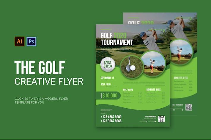 Thumbnail for Golf - dépliant