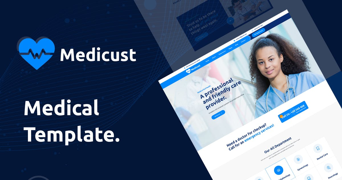 Download Medicust - Health and Medical XD Template by envalab