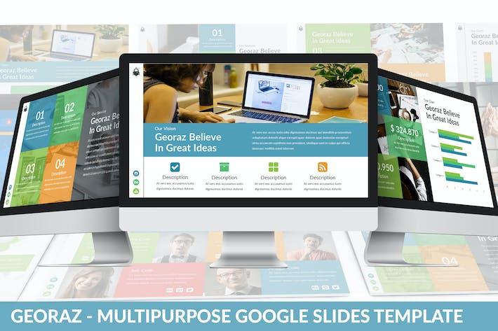 Thumbnail for Georaz - Multipurpose Google Slides Template