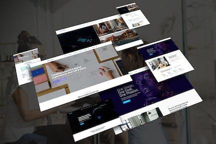 Vorzex - Creative Agency HTML5 Responsive Template