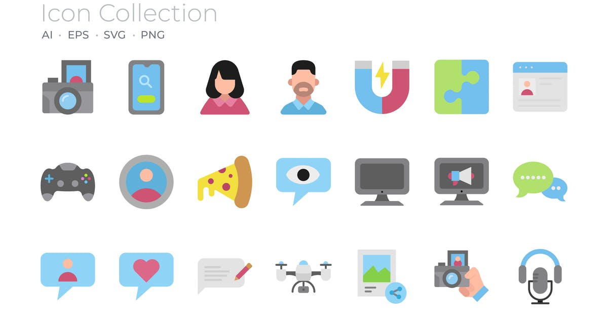 Download Blogger Filled Icon by GoodWare_Std