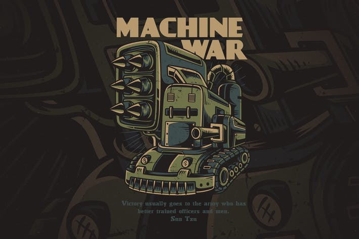 Thumbnail for Machine War