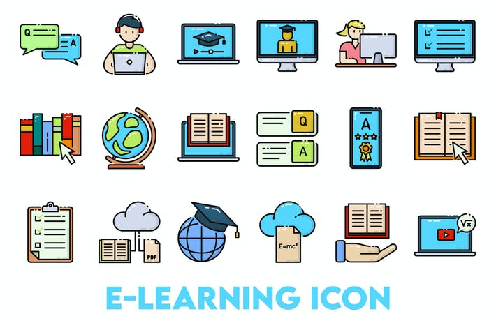 Thumbnail for Learning Online Icon