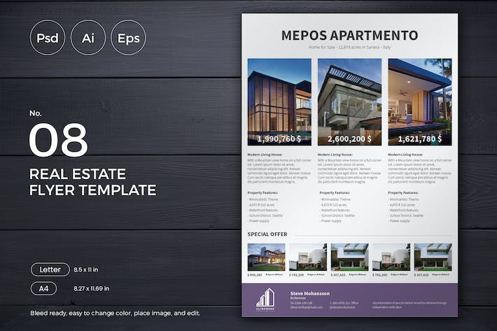 Thumbnail for Slidewerk - Real Estate Flyer 08
