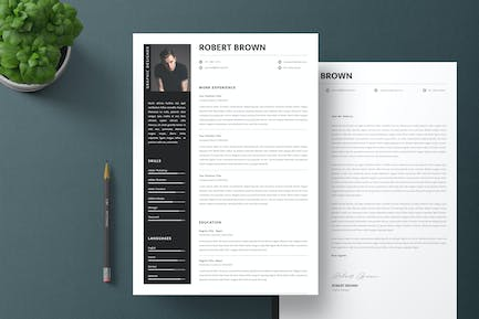 Professional Resume & Letter Template