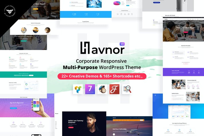 Thumbnail for Havnor - Multi-Purpose WordPress Theme