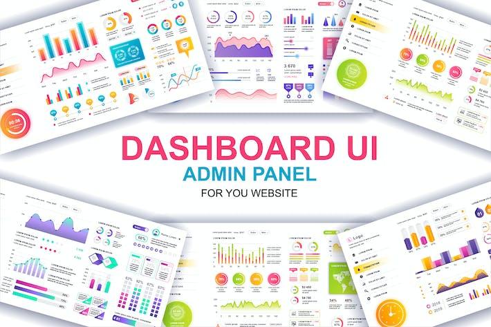 Thumbnail for Dashboard UI Admin Panel Template