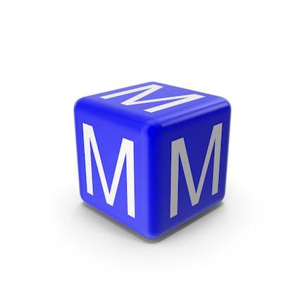 Blue M Block