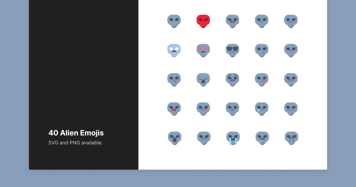 Download Cute Alien Emojis by roywj