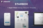 StarBox - Startup Unbounce Landing Page